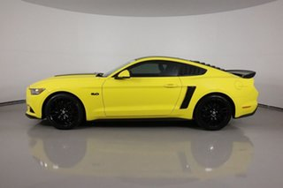 2017 Ford Mustang FM MY17 Fastback GT 5.0 V8 Yellow 6 Speed Automatic Coupe