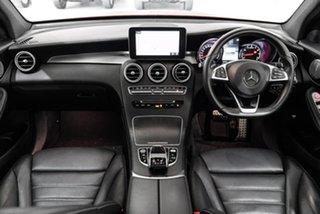 2017 Mercedes-Benz GLC-Class X253 GLC43 AMG 9G-Tronic 4MATIC Red 9 Speed Sports Automatic Wagon.