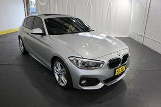 2015 BMW 1 Series F20 LCI 125i M Sport Silver 8 Speed Sports Automatic Hatchback.