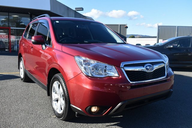 Used Subaru Forester S4 MY15 2.0D-L CVT AWD Wantirna South, 2015 Subaru Forester S4 MY15 2.0D-L CVT AWD Red 7 Speed Constant Variable Wagon
