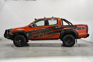 2017 Isuzu D-MAX MY17 LS-U Crew Cab Orange 6 Speed Manual Utility.