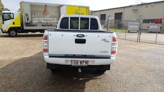 2011 Ford Ranger PK XL (4x2) White 5 Speed Automatic Dual Cab Pick-up