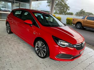 2017 Holden Astra RS-V Red Sports Automatic Hatchback