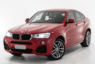 2016 BMW X4 F26 xDrive20i Coupe Steptronic Red 8 Speed Automatic Wagon.