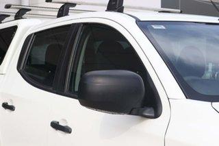 2018 Mitsubishi Triton MQ MY18 GLX Double Cab White 6 Speed Manual Cab Chassis
