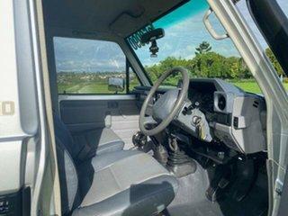 2007 Toyota Landcruiser VDJ79R GX (4x4) Silver Pearl 5 Speed Manual Cab Chassis