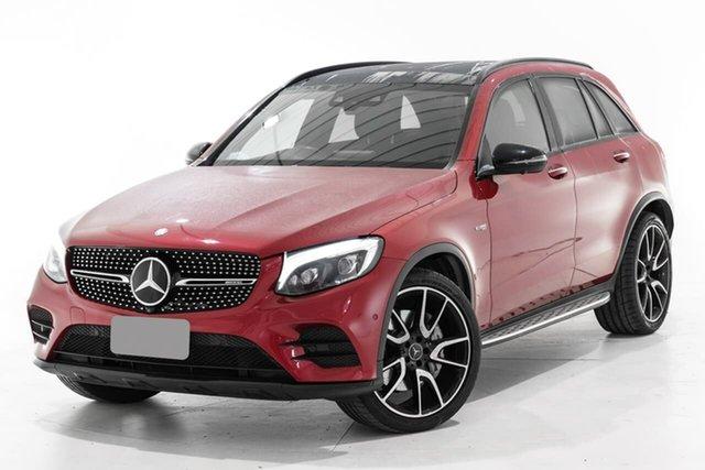 Used Mercedes-Benz GLC-Class X253 GLC43 AMG 9G-Tronic 4MATIC Berwick, 2017 Mercedes-Benz GLC-Class X253 GLC43 AMG 9G-Tronic 4MATIC Red 9 Speed Sports Automatic Wagon