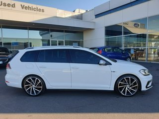 2018 Volkswagen Golf 7.5 MY18 R DSG 4MOTION White 7 Speed Sports Automatic Dual Clutch Wagon