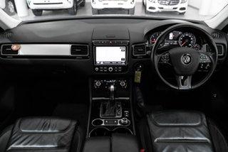 2015 Volkswagen Touareg 7P MY15 150TDI Tiptronic 4MOTION Black 8 Speed Sports Automatic Wagon.