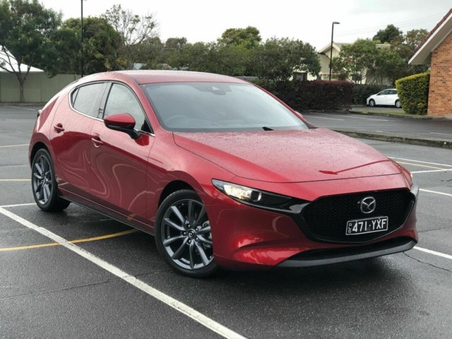 Used Mazda 3 BP2H7A G20 SKYACTIV-Drive Touring Chermside, 2019 Mazda 3 BP2H7A G20 SKYACTIV-Drive Touring Red 6 Speed Sports Automatic Hatchback