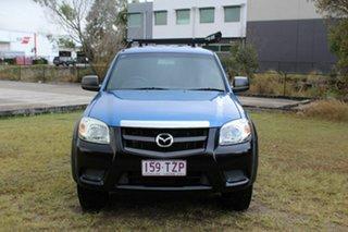 2010 Mazda BT-50 UNY0E4 DX Blue 5 Speed Automatic Utility.