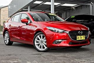 2017 Mazda 3 BN5238 SP25 SKYACTIV-Drive Red 6 Speed Sports Automatic Sedan.