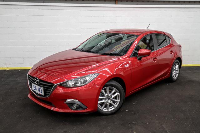 Used Mazda 3 BM5478 Maxx SKYACTIV-Drive Canning Vale, 2015 Mazda 3 BM5478 Maxx SKYACTIV-Drive Red 6 Speed Sports Automatic Hatchback