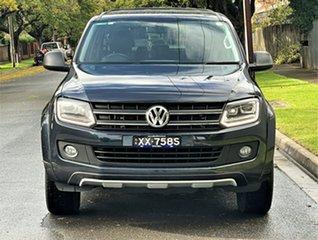 2014 Volkswagen Amarok 2H MY15 TDI420 4MOTION Perm Dark Label Blue 8 Speed Automatic Utility.