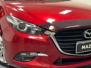 2016 Mazda 3 BN5438 SP25 SKYACTIV-Drive Soul Red 6 Speed Sports Automatic Hatchback.