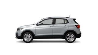 2021 Volkswagen T-Cross C1 85TSI Style Reflex Silver 7 Speed Semi Auto SUV.