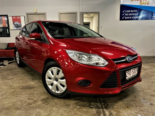 Used Ford Focus LW MkII Ambiente PwrShift Ashmore, 2013 Ford Focus LW MkII Ambiente PwrShift Metallic Red 6 Speed Sports Automatic Dual Clutch