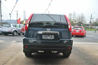2013 Nissan X-Trail T31 Series 5 ST (4x4) Blue 6 Speed CVT Auto Sequential Wagon