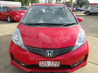 2013 Honda Jazz GE MY12 VTi-S Red 5 Speed Automatic Hatchback