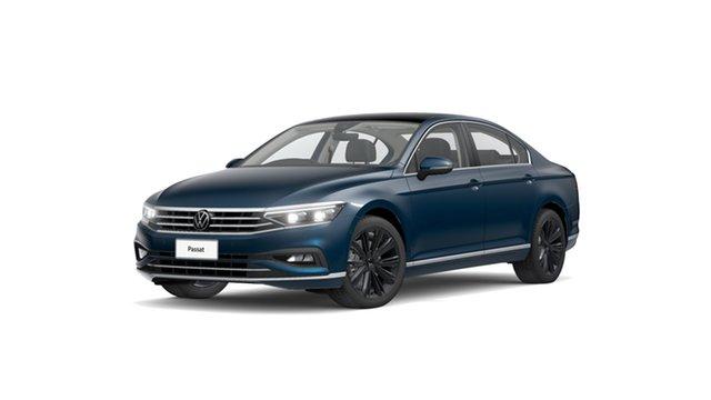 New Volkswagen Passat B8 162TSI Elegance Hamilton, 2021 Volkswagen Passat B8 162TSI Elegance Aquamarine Blue Metallic 6 Speed Semi Auto Sedan