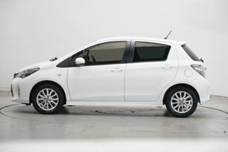 2015 Toyota Yaris NCP131R SX White 4 Speed Automatic Hatchback.