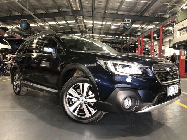Pre-Owned Subaru Outback MY18 3.6R AWD Oakleigh, 2019 Subaru Outback MY18 3.6R AWD Blue Continuous Variable Wagon
