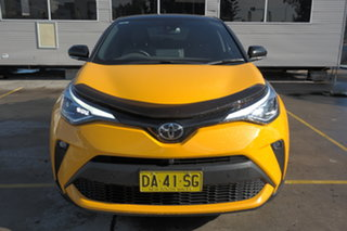 2020 Toyota C-HR NGX10R Koba S-CVT 2WD Yellow 7 Speed Constant Variable Wagon.