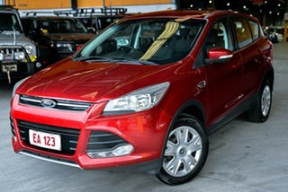 2015 Ford Kuga TF MK 2 Ambiente (AWD) Red 6 Speed Automatic Wagon.