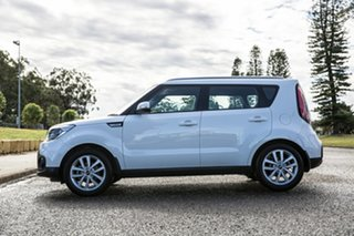 2018 Kia Soul PS MY19 SI Clear White 6 Speed Sports Automatic Hatchback