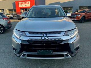 2018 Mitsubishi Outlander ZL MY19 ES 2WD Silver 6 Speed Constant Variable Wagon.