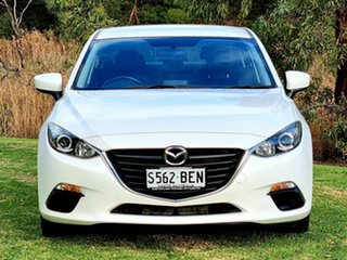 2014 Mazda 3 BM5276 Maxx SKYACTIV-MT White 6 Speed Manual Sedan.