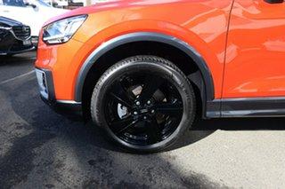 2017 Audi Q2 GA MY18 1.4 TFSI Design Coral Orange Metallic 7 Speed Auto S-Tronic Wagon.
