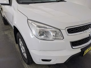 2015 Holden Colorado RG MY15 LS Crew Cab 4x2 White 6 Speed Sports Automatic Cab Chassis.