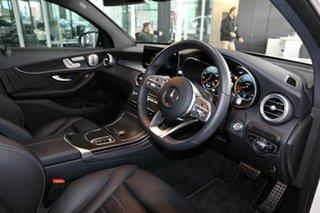 2020 Mercedes-Benz GLC-Class C253 800+050MY GLC300 Coupe 9G-Tronic 4MATIC White 9 Speed.