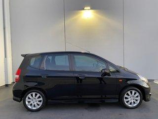 2006 Honda Jazz GD MY05 VTi-S Black 7 Speed Constant Variable Hatchback.