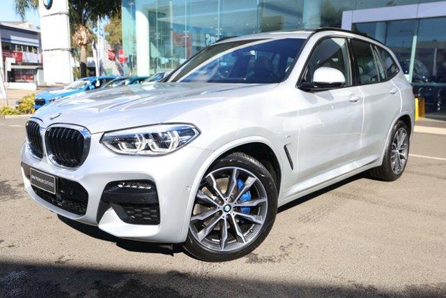 Used BMW X3 G01 xDrive30i M Sport Brookvale, 2020 BMW X3 G01 xDrive30i M Sport Glacier Silver 8 Speed Auto Steptronic Sport Wagon