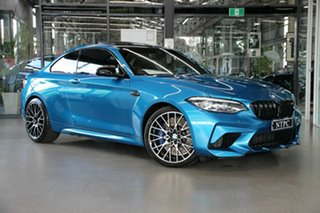 2020 BMW M2 F87 LCI Competition M-DCT Blue 7 Speed Sports Automatic Dual Clutch Coupe.
