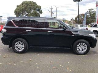 2019 Nissan Patrol Y62 Series 4 TI-L Black 7 Speed Sports Automatic Wagon.
