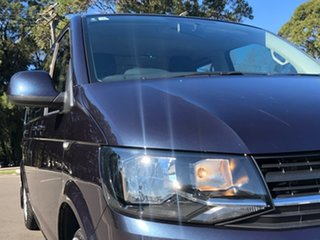 2016 Volkswagen Caravelle T6 MY17 TDI340 LWB DSG Blue 7 Speed Sports Automatic Dual Clutch Wagon