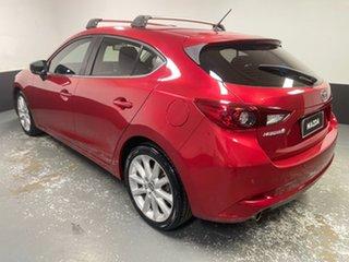 2016 Mazda 3 BN5438 SP25 SKYACTIV-Drive Soul Red 6 Speed Sports Automatic Hatchback