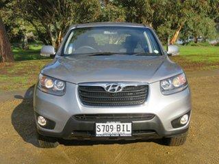 2010 Hyundai Santa Fe CM MY10 SLX Silver 6 Speed Sports Automatic Wagon.