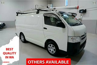 2017 Toyota HiAce TRH201R LWB White 6 Speed Automatic Van.