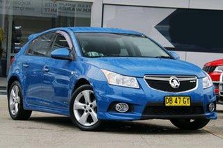 2012 Holden Cruze JH Series II MY13 SRi-V Blue 6 Speed Manual Hatchback.