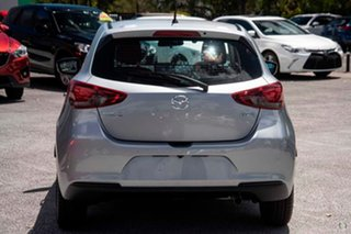 2021 Mazda 2 DJ2HAA G15 SKYACTIV-Drive Pure Silver 6 Speed Sports Automatic Hatchback.