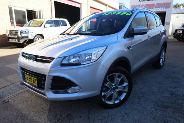 Used Ford Kuga TF MK 2 Trend (AWD) Narrabeen, 2015 Ford Kuga TF MK 2 Trend (AWD) Silver 6 Speed Automatic Wagon
