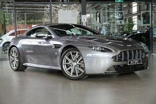 2012 Aston Martin V8 MY13 Vantage Sportshift II S Grey 7 Speed Seq Manual Auto-Clutch Coupe.