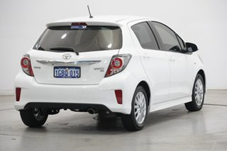 2015 Toyota Yaris NCP131R SX White 4 Speed Automatic Hatchback