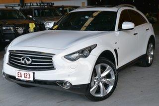 2015 Infiniti QX70 S51 S Premium White 7 Speed Sports Automatic Wagon.