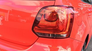 2012 Volkswagen Polo 6R MY13 GTI DSG Red 7 Speed Sports Automatic Dual Clutch Hatchback