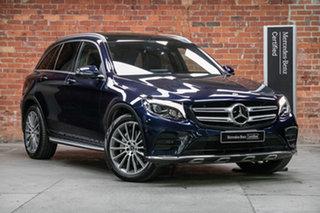 2017 Mercedes-Benz GLC-Class X253 808MY GLC250 d 9G-Tronic 4MATIC Cavansite Blue 9 Speed.